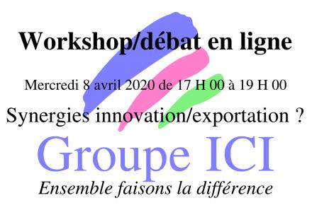 Compte rendu du Workshop en ligne du 8/4/2020.